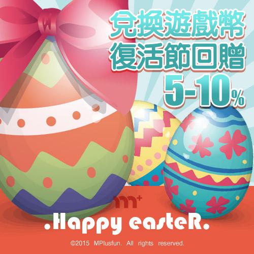 【m+尊享】復活節派對時刻m+ X Paypal + WebATM雙重優惠
